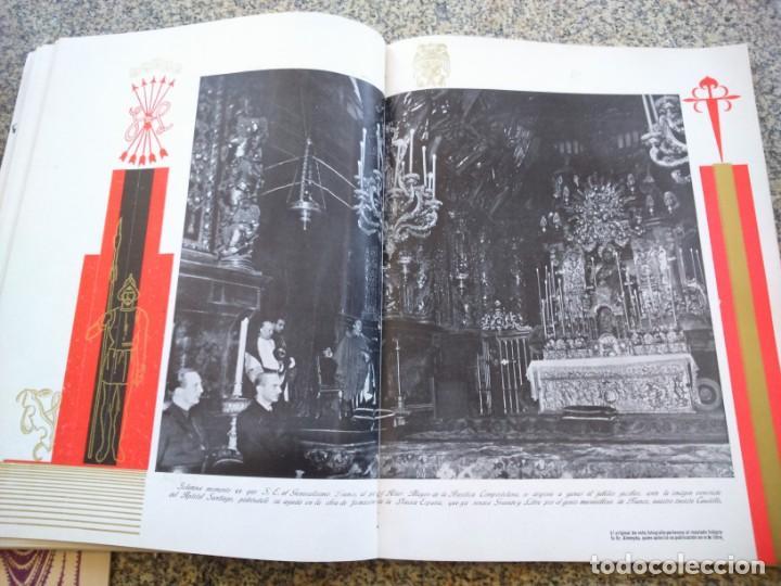 Libros de segunda mano: FRANCO ANTE EL APOSTOL SANTIAGO ( GALICIA ) -- AÑO 1939 -- SANTIAGO DE COMPOSTELA -- - Foto 7 - 209154223