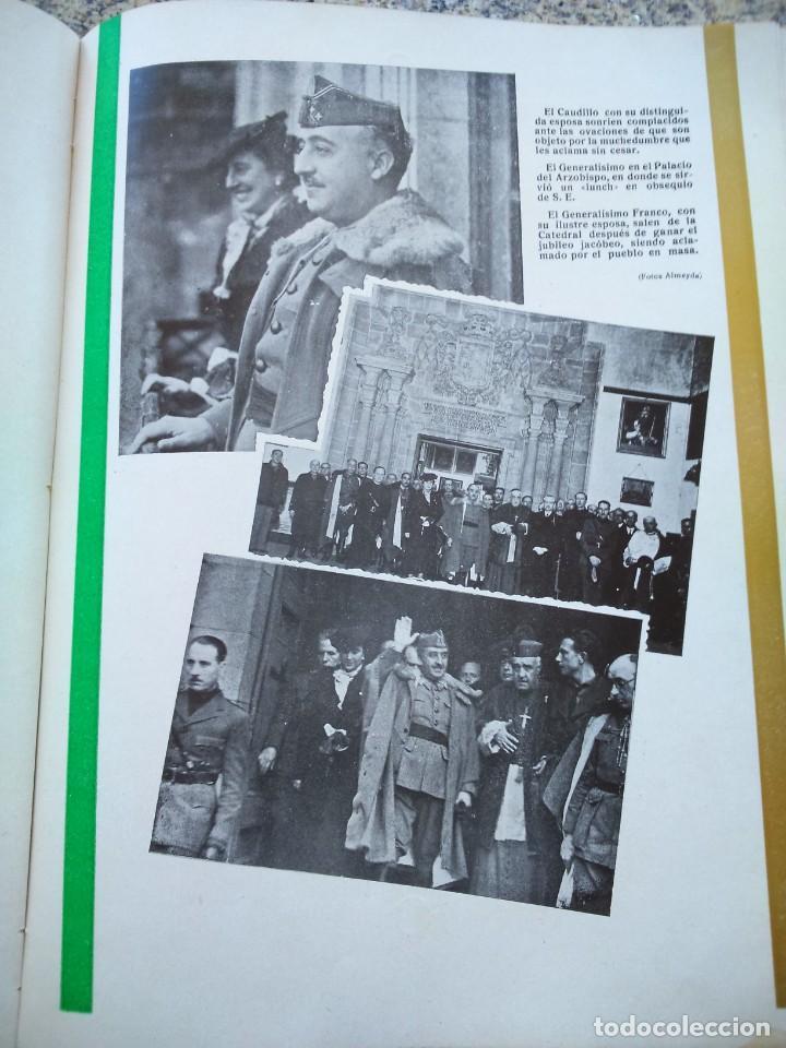 Libros de segunda mano: FRANCO ANTE EL APOSTOL SANTIAGO ( GALICIA ) -- AÑO 1939 -- SANTIAGO DE COMPOSTELA -- - Foto 8 - 209154223