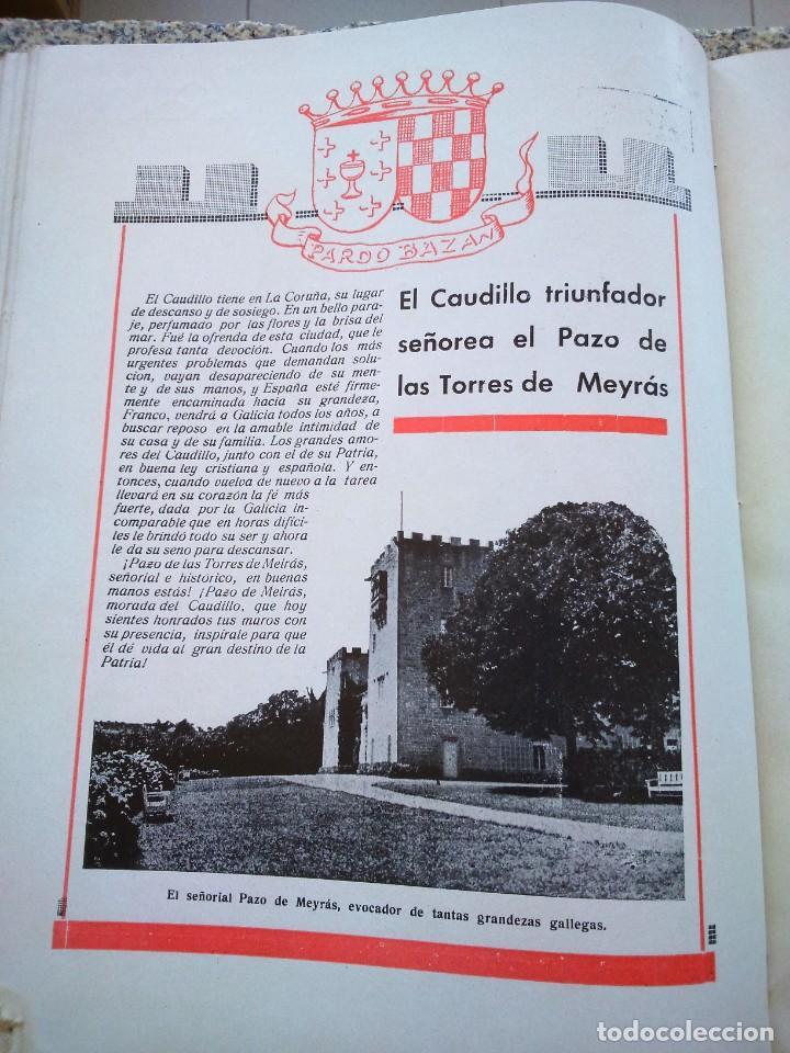 Libros de segunda mano: FRANCO ANTE EL APOSTOL SANTIAGO ( GALICIA ) -- AÑO 1939 -- SANTIAGO DE COMPOSTELA -- - Foto 12 - 209154223