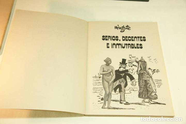 Libros de segunda mano: Gran colección Mingote. 7 números. 4 de ellos firmados y con dibujos originales del autor. 1973. - Foto 8 - 209159348