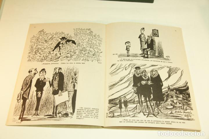 Libros de segunda mano: Gran colección Mingote. 7 números. 4 de ellos firmados y con dibujos originales del autor. 1973. - Foto 9 - 209159348