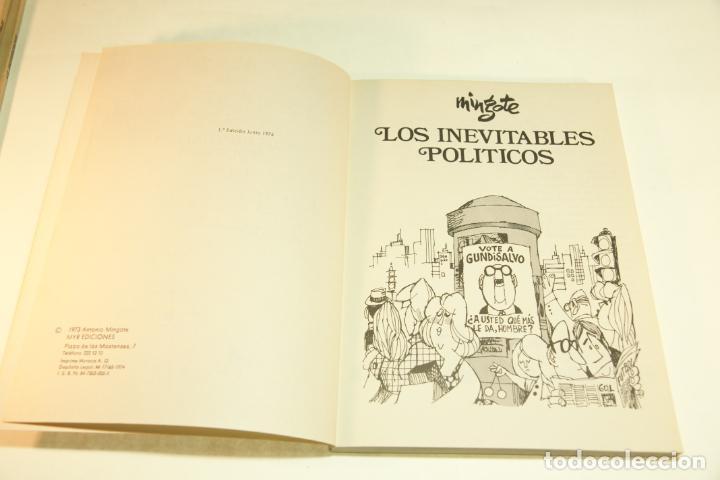 Libros de segunda mano: Gran colección Mingote. 7 números. 4 de ellos firmados y con dibujos originales del autor. 1973. - Foto 14 - 209159348