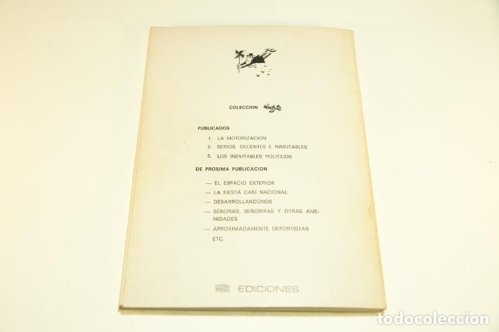 Libros de segunda mano: Gran colección Mingote. 7 números. 4 de ellos firmados y con dibujos originales del autor. 1973. - Foto 16 - 209159348