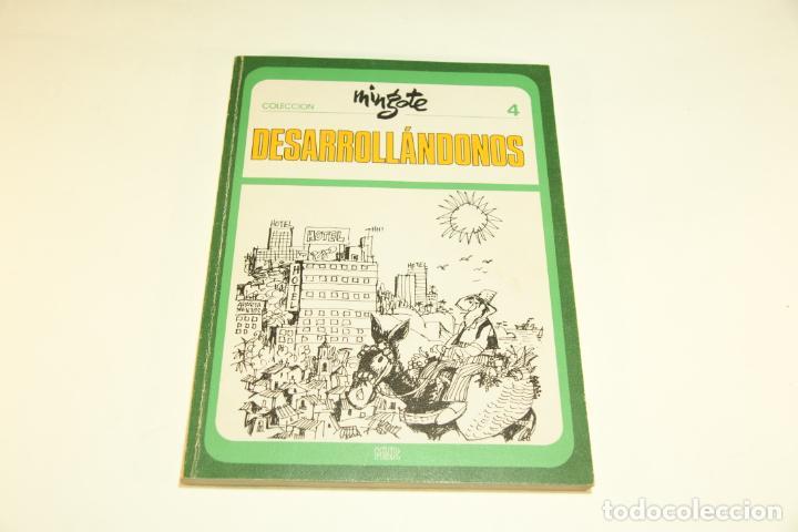 Libros de segunda mano: Gran colección Mingote. 7 números. 4 de ellos firmados y con dibujos originales del autor. 1973. - Foto 17 - 209159348