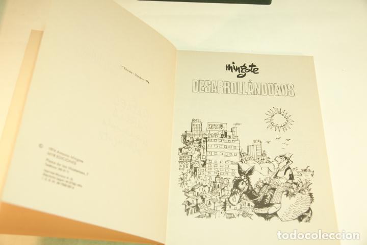 Libros de segunda mano: Gran colección Mingote. 7 números. 4 de ellos firmados y con dibujos originales del autor. 1973. - Foto 19 - 209159348