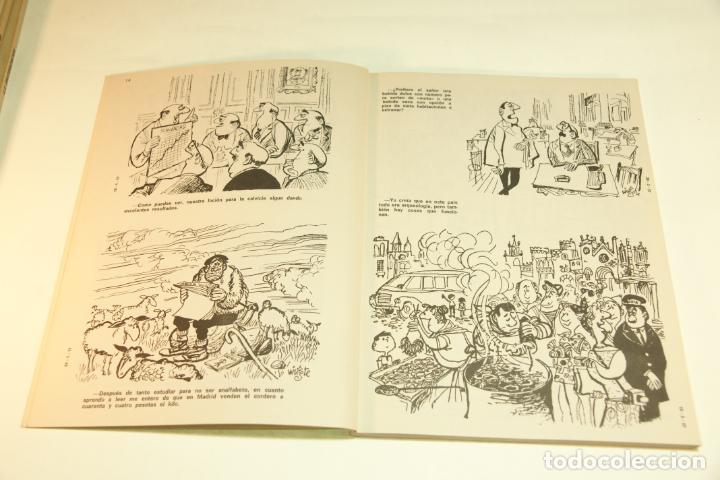 Libros de segunda mano: Gran colección Mingote. 7 números. 4 de ellos firmados y con dibujos originales del autor. 1973. - Foto 20 - 209159348