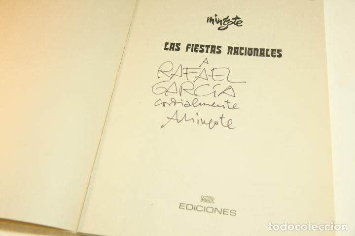 Libros de segunda mano: Gran colección Mingote. 7 números. 4 de ellos firmados y con dibujos originales del autor. 1973. - Foto 23 - 209159348