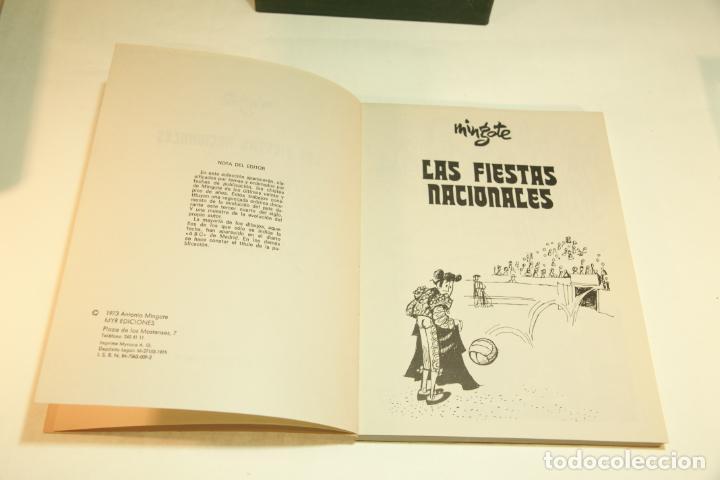 Libros de segunda mano: Gran colección Mingote. 7 números. 4 de ellos firmados y con dibujos originales del autor. 1973. - Foto 24 - 209159348