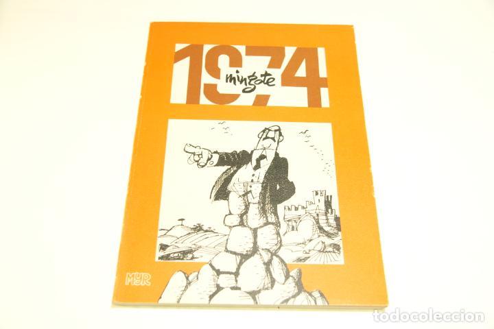Libros de segunda mano: Gran colección Mingote. 7 números. 4 de ellos firmados y con dibujos originales del autor. 1973. - Foto 27 - 209159348