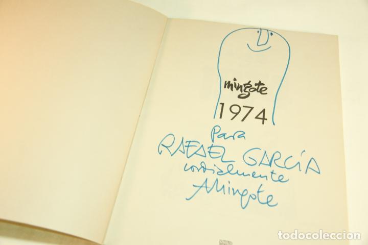 Libros de segunda mano: Gran colección Mingote. 7 números. 4 de ellos firmados y con dibujos originales del autor. 1973. - Foto 28 - 209159348