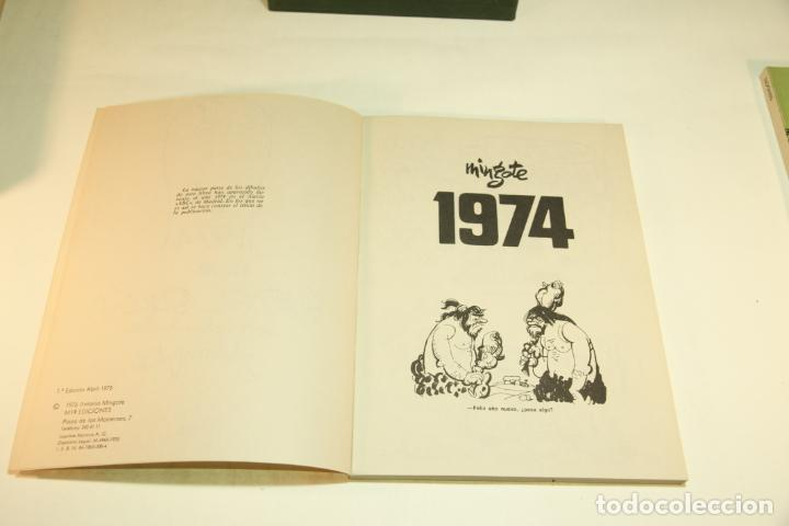 Libros de segunda mano: Gran colección Mingote. 7 números. 4 de ellos firmados y con dibujos originales del autor. 1973. - Foto 29 - 209159348