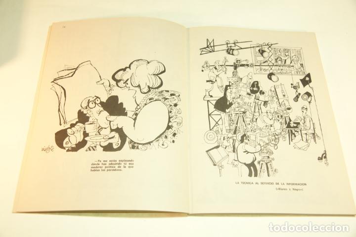 Libros de segunda mano: Gran colección Mingote. 7 números. 4 de ellos firmados y con dibujos originales del autor. 1973. - Foto 30 - 209159348