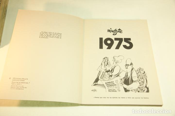 Libros de segunda mano: Gran colección Mingote. 7 números. 4 de ellos firmados y con dibujos originales del autor. 1973. - Foto 33 - 209159348