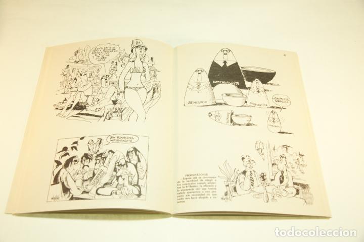Libros de segunda mano: Gran colección Mingote. 7 números. 4 de ellos firmados y con dibujos originales del autor. 1973. - Foto 34 - 209159348