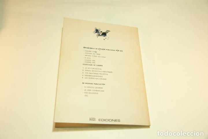 Libros de segunda mano: Gran colección Mingote. 7 números. 4 de ellos firmados y con dibujos originales del autor. 1973. - Foto 36 - 209159348