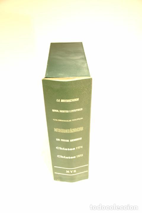 Libros de segunda mano: Gran colección Mingote. 7 números. 4 de ellos firmados y con dibujos originales del autor. 1973. - Foto 38 - 209159348