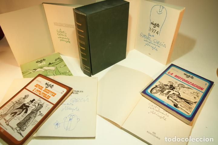GRAN COLECCIÓN MINGOTE. 7 NÚMEROS. 4 DE ELLOS FIRMADOS Y CON DIBUJOS ORIGINALES DEL AUTOR. 1973. (Libros de Segunda Mano (posteriores a 1936) - Literatura - Otros)