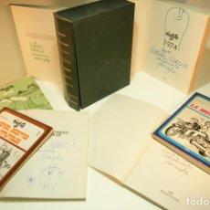 Libros de segunda mano: GRAN COLECCIÓN MINGOTE. 7 NÚMEROS. 4 DE ELLOS FIRMADOS Y CON DIBUJOS ORIGINALES DEL AUTOR. 1973.. Lote 209159348