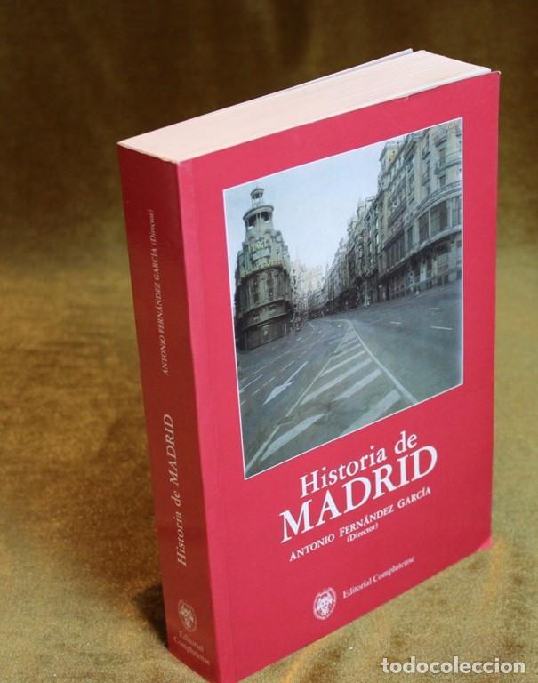 HISTORIA DE MADRID,ANTONIO FERNÁNDEZ GARCÍA,EDITORIAL COMPLUTENSE,1993. (Libros de Segunda Mano - Historia - Otros)