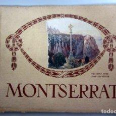 Libros de segunda mano: MONTSERRAT. ANTIGUO LIBRO CON FOTOGRAFÍAS DEL MONASTERIO.. Lote 209173798