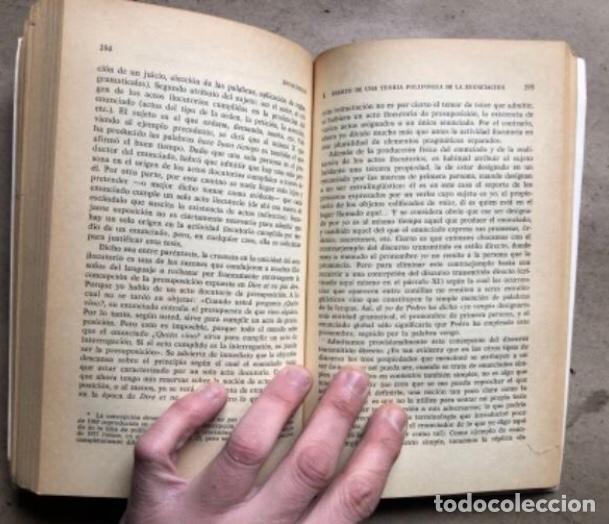 Libros de segunda mano: EL DECIR Y LO DICHO (POLIFONÍA DE LA ENUNCIACIÓN). OSWALD DUCROT. PAIDÓS COMUNICACIÓN 1986 - Foto 8 - 209173985