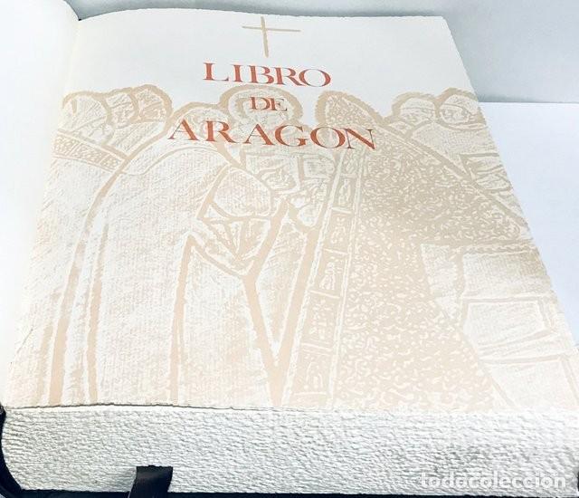 Libros de segunda mano: Libro de Aragón. Caja de Ahorros de Zaragoza Centenario 1876-1976. Cubierta de Pablo Serrano - Foto 3 - 209185578