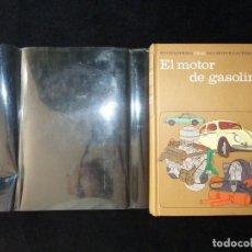 Libros de segunda mano: EL MOTOR DE GASOLINA, TOMO 1 ENCICLOPEDIA CEAC DEL MOTOR Y AUTOMOVIL. 1973. Lote 209200825