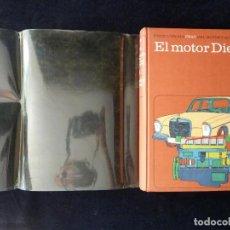 Libros de segunda mano: EL MOTOR DIESEL, TOMO 4 ENCICLOPEDIA CEAC DEL MOTOR Y AUTOMOVIL. 1974. Lote 209201136