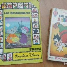 Libros de segunda mano: DE MUNICH A SHAN-GRILA WALT DISNEY COLECCIÓN HOGAR FELIZ BRUGUERA 1 ED 1973 LOS RESCATADORES EVEREST. Lote 209201400