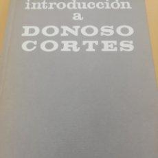 Libros de segunda mano: INTRODUCCIÓN A DONOSO CORTES, FEDERICO SUÁREZ, RIALP. Lote 209205327