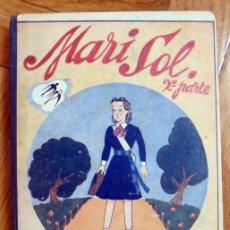 Libros de segunda mano: MARISOL. EDITORIAL MAGISTERIO ESPAÑOL.1942. LECTURA PARA NIÑAS. 2º PARTE. Lote 209250111