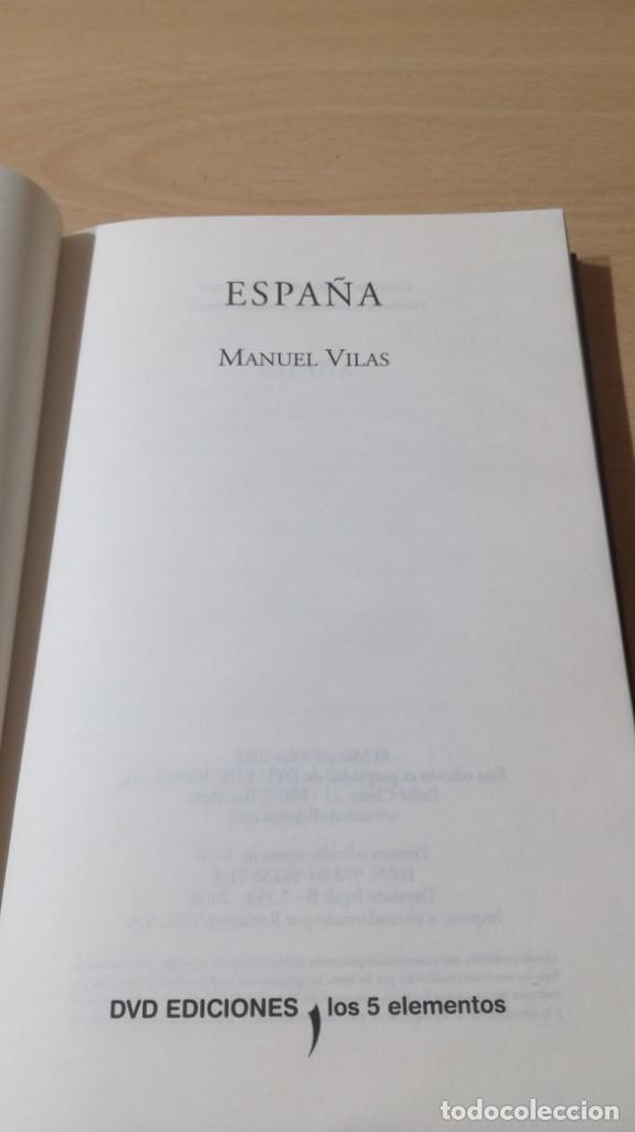 Libros de segunda mano: ESPAÑA - MANUEL VILAS - DVD EDICIONES - LOS 5 ELEMENTOS S-205 - Foto 6 - 209277260