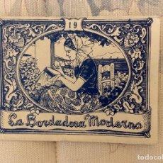 Libros de segunda mano: LA BORDADORA MODERNA Nº 19 NUEVO. Lote 209302697