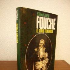 Livros em segunda mão: STEFAN ZWEIG: FOUCHÉ. EL GENIO TENEBROSO (JUVENTUD, 1984) ED. ILUSTRADA EN TELA. MUY BUEN ESTADO.. Lote 209321460