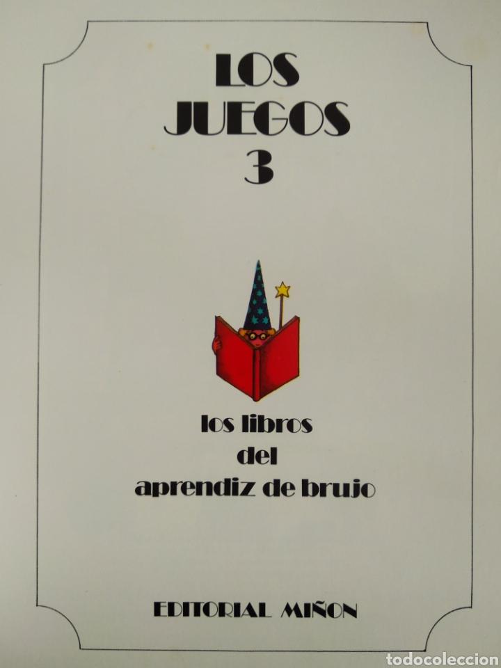 Libros de segunda mano: Los Libros del Aprendiz de Brujo: Los Juegos 2/3 (Miñón). Por J.L. García Sánchez/José Ramón Sánchez - Foto 2 - 209358577