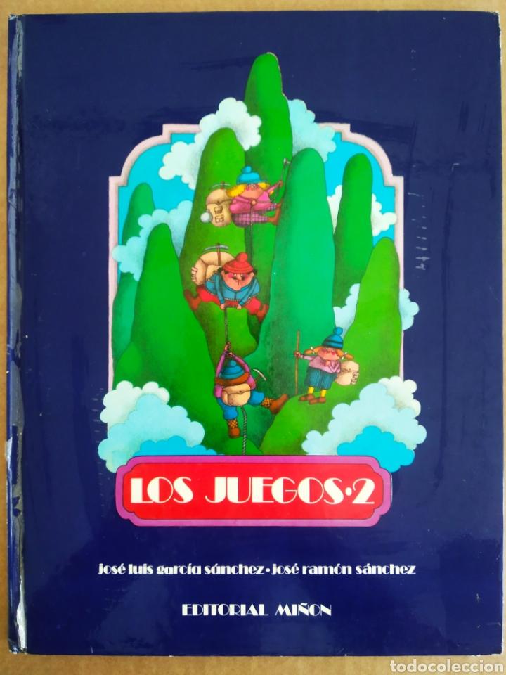 LOS LIBROS DEL APRENDIZ DE BRUJO: LOS JUEGOS 2/3 (MIÑÓN). POR J.L. GARCÍA SÁNCHEZ/JOSÉ RAMÓN SÁNCHEZ (Libros de Segunda Mano - Literatura Infantil y Juvenil - Otros)