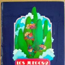 Libros de segunda mano: LOS LIBROS DEL APRENDIZ DE BRUJO: LOS JUEGOS 2/3 (MIÑÓN). POR J.L. GARCÍA SÁNCHEZ/JOSÉ RAMÓN SÁNCHEZ. Lote 209358577