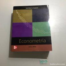 Libros de segunda mano: ECONOMETRIA. Lote 209385931
