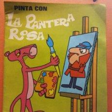 Livros em segunda mão: PINTA CON LA PANTERA ROSA Nº 4. ÁLBUM PARA PINTAR. EDICIONES LAIDA. Lote 209410780