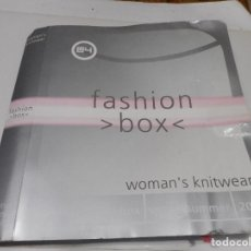 Libros de segunda mano: FASHION BOX 2004 SPRING SUMMER WOMAN´S KNITWEAR Q1440T. Lote 209573840