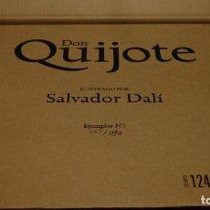 Libros de segunda mano: EL QUIJOTE ILUSTRADO POR SALVADOR DALÍ - EDITORIAL PLANETA (FACSÍMIL). Lote 209593206