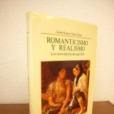 Libros de segunda mano: CHARLES ROSEN & HENRI ZERNER: ROMANTICISMO Y REALISMO. LOS MITOS DEL ARTE DEL S. XIX (HERMANN BLUME). Lote 245013140