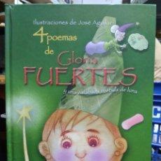 Libros de segunda mano: 4 POEMAS DE GLORIA FUERTES Y UNA CALABAZA VESTIDA DE LUNA. CO-178. Lote 209649840