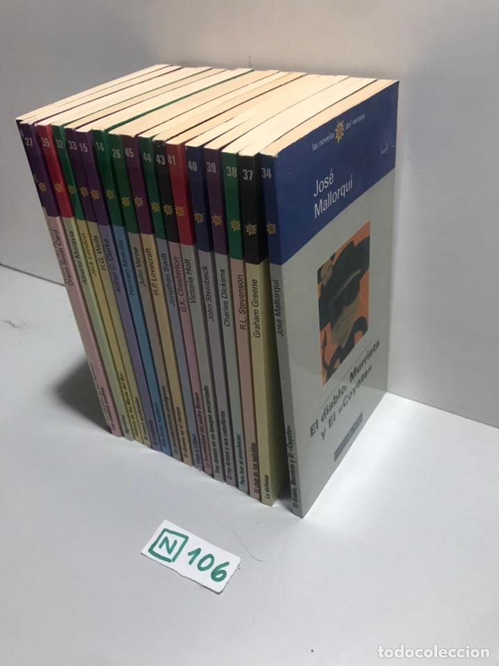 Libros de segunda mano: LOTE DE LIBROS LAS NOVELAS DEL VERANO - Foto 2 - 209686556