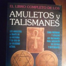 Libros de segunda mano: AMULETOS Y TALISMANES - EL LIBRO COMPLETO DE - MIGENE GONZALEZ-WIPPLER - HUMANITAS 1993. Lote 209709865