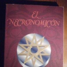 Libros de segunda mano: EL NECRONOMICÓN - RECOPILADO POR SIMÓN - LA TABLA DE ESMERALDA - H.P. LOVECRAFT - EDAF 1994. Lote 209710661