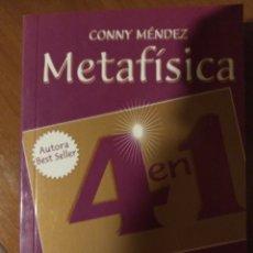 Libros de segunda mano: METAFÍSICA VOLUMEN 3 4 EN 1. Lote 209716897