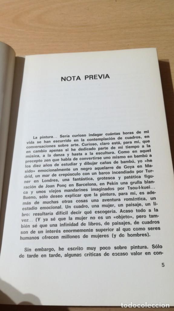Libros de segunda mano: LA PALABRA DEL ARTE - BALTASAR PORCEL - RAYUELA ESQ301 OTROS - Foto 6 - 209771533