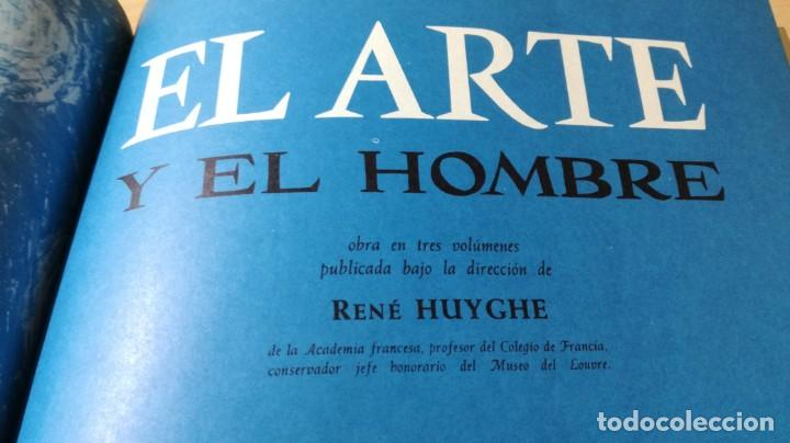 Libros de segunda mano: EL ARTE Y EL HOMBRE III - PLANETA - RENE HUYGHE GRAVOL23 OTROS - Foto 7 - 209771775