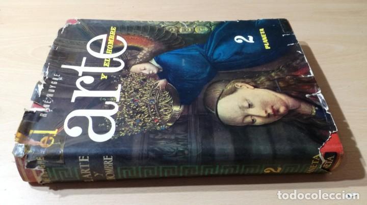 EL ARTE Y EL HOMBRE II - PLANETA - RENE HUYGHE R402 OTROS (Libros de Segunda Mano - Bellas artes, ocio y coleccionismo - Otros)
